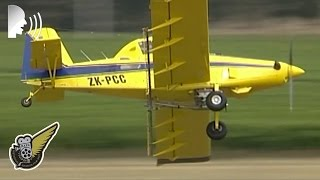 Awesome Air Tractor 402 Aerial Spraying Display