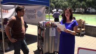 An invitation from Public Poetry to Houston Poet Laureate, Gwendolyn Zepeda, to bring her poetry to the streets, parks and...