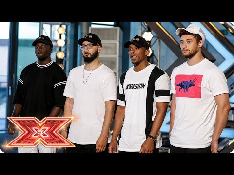 The Judges are feeling Rak-Su's first Audition | Auditions Week 1 | The X Factor 2017 (видео)