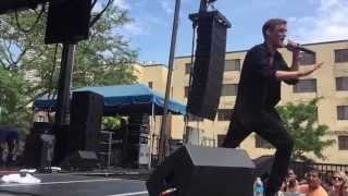"Aaron Carter performs his newer hit ""What Would You Do?"" live at Northalsted Market Days in Chicago, Illinois on August 9th, ..."