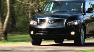 2012 Infiniti QX56 - Drive Time Review With Steve Hammes