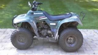3. 2006 Kawasaki Bayou 250 2x4