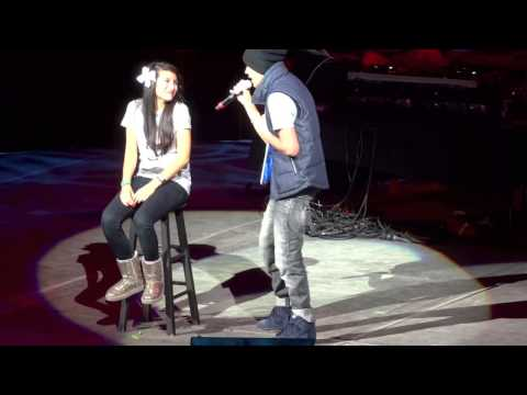 """Austin Mahone: """"When You Look Me In The Eyes"""" San Antonio Rodeo 2013"""