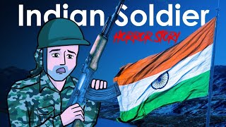 Republic Day Special | Indian Soldier Horror Story in Hindi | KM E21 🔥🔥🔥