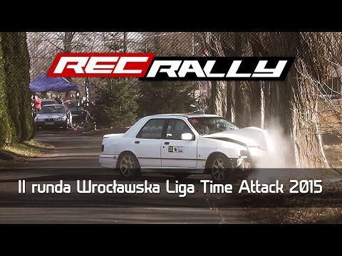 II runda Wrocławska Liga Time Attack 2015 - Crash, Action, Drift, Max Attack by RecRally