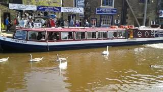Skipton United Kingdom  city photo : Skipton canal Yorkshire England U.K.
