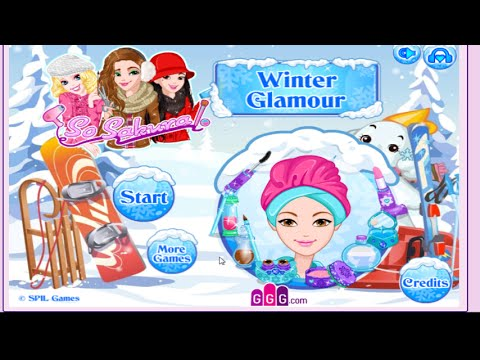 dress up game-So Sakura: Winter Glamour