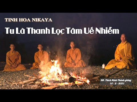 TINH HOA NIKAYA - Tu Là Thanh Lọc Tâm Uế Nhiễm