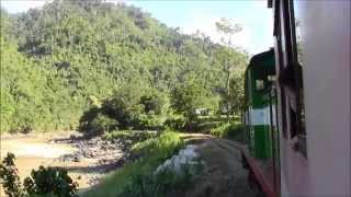 Beaufort Malaysia  city photos gallery : Borneo Train Sabah Railways Beaufort-Tenom Malaysia 2014