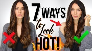 Video 7 WAYS TO INSTANTLY LOOK HOT! (real tricks) MP3, 3GP, MP4, WEBM, AVI, FLV Juli 2019