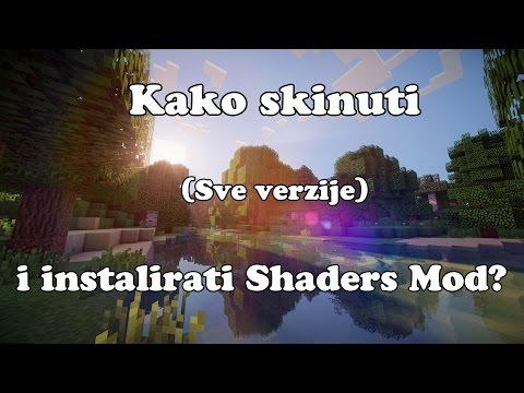 Kako Instalirati Shaders Mod (Za sve verzije Minecrafta) (видео)
