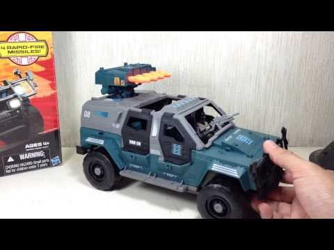 G I Joe Ninja Combat Cruiser Retaliation Toy Review
