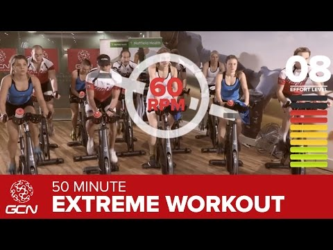 Extreme Fat Burning Workout – 50 Minute Indoor Cycling Class