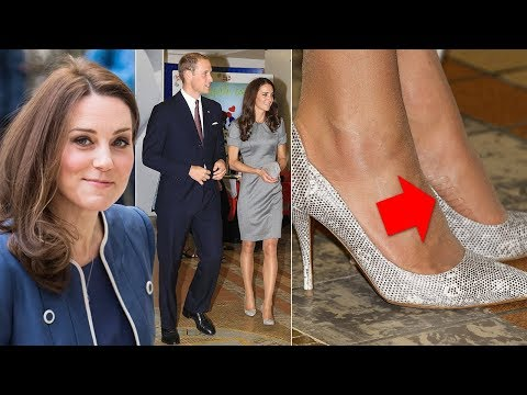 REVEALED: The Duchess Of Cambridge Uses This Genius Tights Tip To Keep Her High Heels In Place