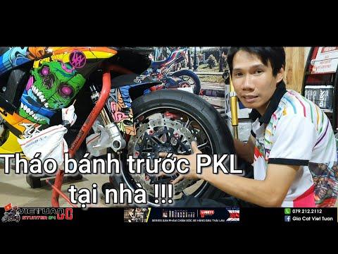 Tháo bánh trước mọi loại xe PKL-PKN tại nhà !!! - Thời lượng: 22 phút.