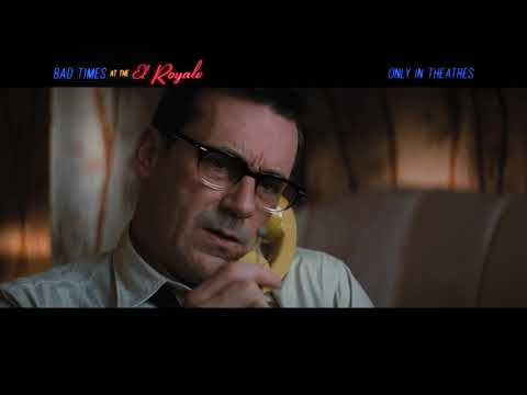 Bad Times At The El Royale - Character Checks In Laramie Clip