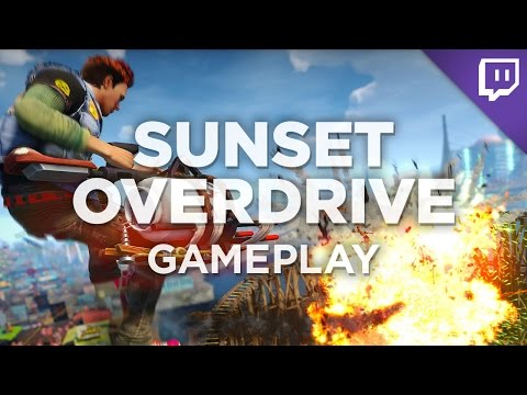 minutes - Nick got his hands on a pre-release copy of the Xbox One open-world game SUNSET OVERDRIVE! Join him as he experiences the game's uniquely vibrant gameplay for the first time. Talk to Nick on...