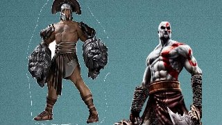 Kratos vs Hercules gow 3 español
