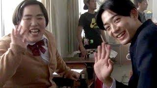 ゆりやんレトリィバァ&竜星涼出演・メイキングにほっこり/「肌ラボ 極潤」PR映像メイキング