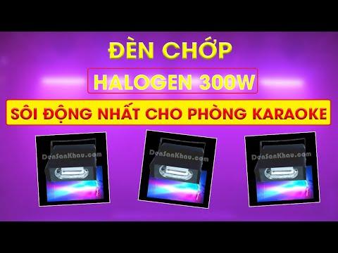 Đèn chớp vũ trường giá rẻ mini 300W trang trí shop, quầy bar, phòng karaoke nhỏ