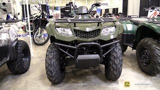 9. 2014 Suzuki King Quad 400 FSI - Walkaround - 2014 Toronto ATV Show
