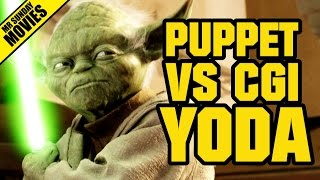 STAR WARS - Puppet Yoda VS CGI Yoda