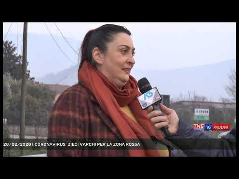 26/02/2020 | CORONAVIRUS, DIECI VARCHI PER LA ZONA ROSSA