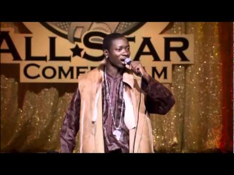 michael blackson.stand up comedy.