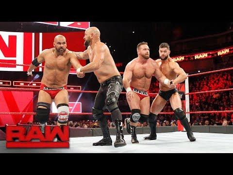 Finn Bálor & Karl Anderson vs. The Revival: Raw, Feb. 5, 2018