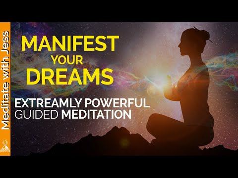Extremely Powerful Guided Meditation to Manifest Your Dreams and Desires.
