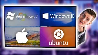 Video Four Operating Systems on ONE Monitor MP3, 3GP, MP4, WEBM, AVI, FLV Desember 2018