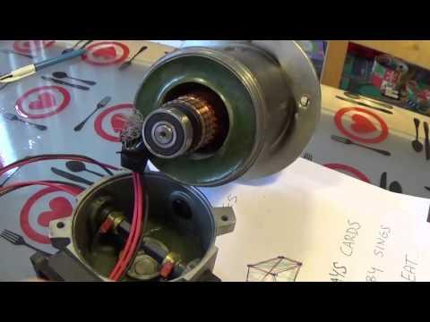 PierAisa #153: Apertura e riparazione di un Motore DC 600W a spazzole