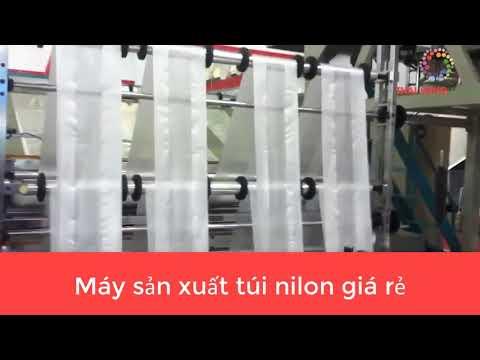 Máy sản xuất túi nilon giá rẻ.
