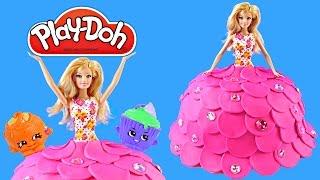 Barbie Play Doh Created Cake Dress Surprise Eggs! Is it a Barbie Dress or Barbie Cake or Both :) Surprise Egg Toys Inside - Disney Frozen Fash'ems, Shopkins ...