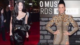 Katy Perry Vs. Lady Gaga Fashion 2013 MTV VMA