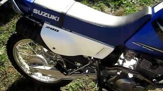 8. SUZUKI DR 200SE - 2005