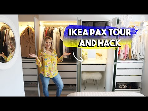 IKEA PAX TOUR AND AMAZING HACK | HOW I SAVED THOUSANDS ON MY WARDROBE AND PLANNED IT FROM HOME 2020