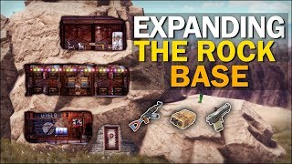Expanding the ROCK BASE! - Rust Solo Survival