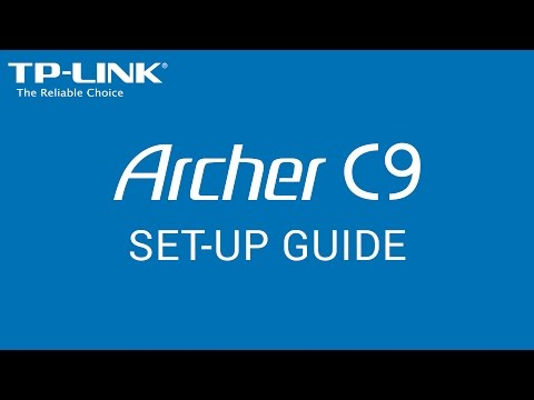 TP-Link AC1900 Wireless Dual Band Gigabit ADSL2+ Modem Router (Archer D9) Setup Tutorial Video