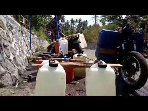 Akses Air bersih paska gempa Lombok