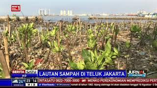 Sudah 34 Ton Sampah Diangkut dari Teluk Jakarta