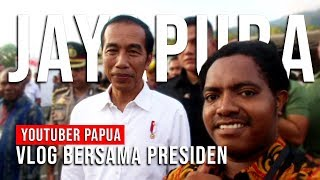 Video VLOG BARENG PRESIDEN JOKOWI KE JAYAPURA, PAPUA MP3, 3GP, MP4, WEBM, AVI, FLV Mei 2019