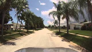 Satellite Beach (FL) United States  city photos gallery : Satellite Beach, Florida - Drive around North Waterway Estates HD (2015)