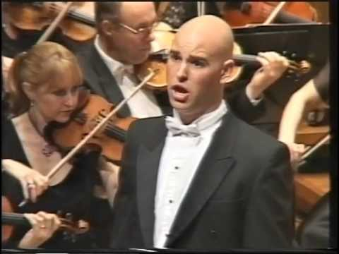 2005: Derek Welton, Baritone Opera Singer, In The Finals Of The Australian Singing Competition
