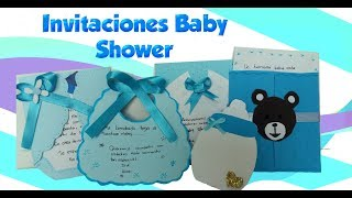 Download Lagu Como Hacer Invitaciones Faciles Para Baby Shower
