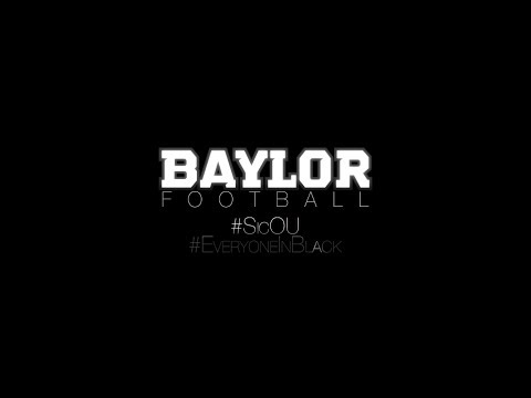 BaylorAthletics - Official Hype Video for OUvsBU football game this Thursday, Nov. 7th at 6:30pm Music