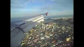 Pouso em Vitória VIX procedente do Rio de Janeiro GIG   TAM A320