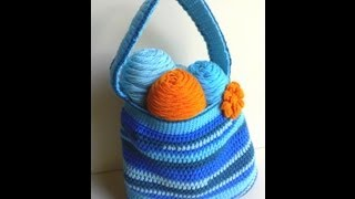 Scrap-Tastic Bag Part 2 of 2 Crochet Tutorial