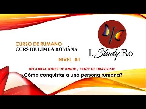 Frases românticas - Frases de amor en rumano - Curso para aprender rumano nivel A1 #51  I Study Ro