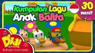 Video Lagu Anak Balita | Wawa Si Lebah & Lain-lain | Didi & Friends | 30 Menit MP3, 3GP, MP4, WEBM, AVI, FLV Agustus 2018